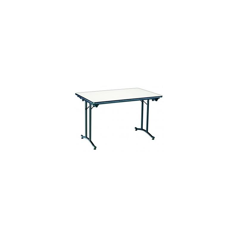 table rimini pour les collectivit s table pliante en m lamin dmc direct. Black Bedroom Furniture Sets. Home Design Ideas
