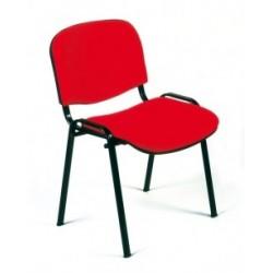 Visuel de la chaise de collectivité Comfort en tissu