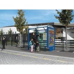 Visuel de l'arrêt de bus Porquerolles