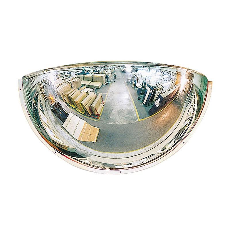 Visuel du miroir routier hémisphérique