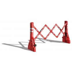 Visuel de la barrière extensible avec rangement