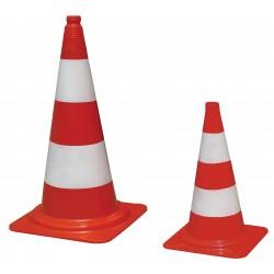 Visuel des cônes de chantier