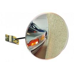 Visuel du miroir de sécurité et de sortie de garage