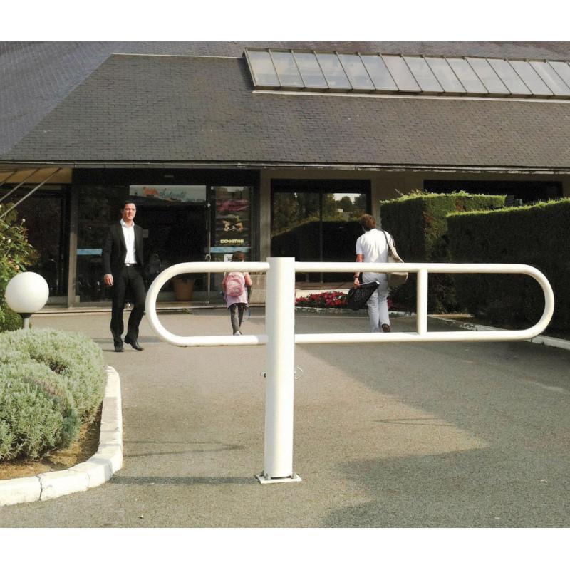 Visuel de la barrière tournante pour parking