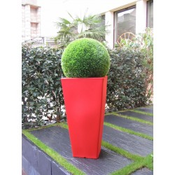 Visuel du pot de fleurs Recto