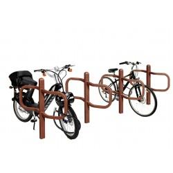 Visuel du support et range vélo Conviviale