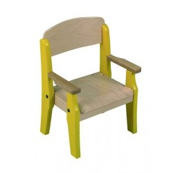 Visuel de la chaise scolaire en fauteuil