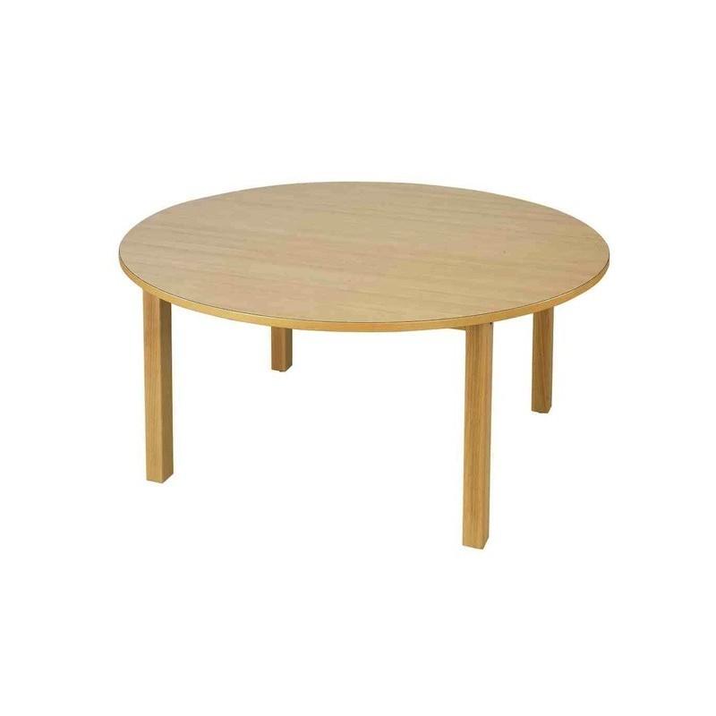 table d 39 cole ronde en bois table d 39 cole en bois massif table d 39 cole 120 cm. Black Bedroom Furniture Sets. Home Design Ideas