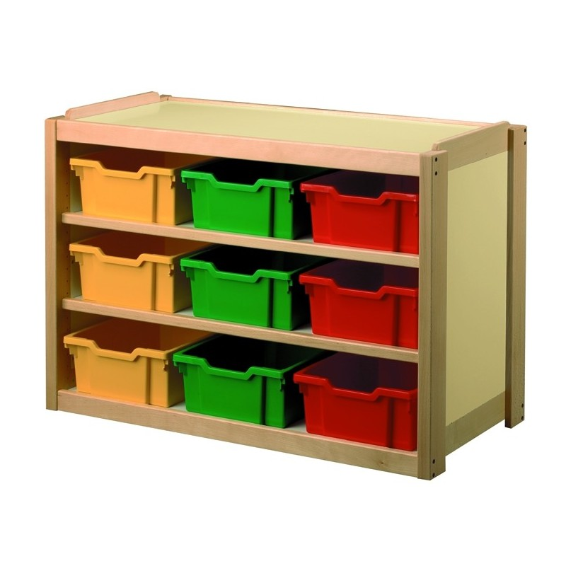 Meuble 9 casiers polypropyl ne dmc direct for Meuble casier