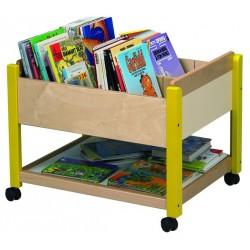 Visuel du meuble de rangement des livres