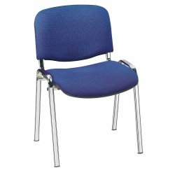 Visuel de la chaise de collectivité Iso en tissu