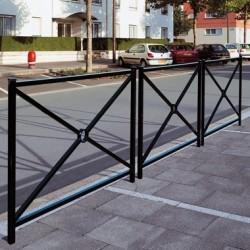 Barrière de ville en acier Blois