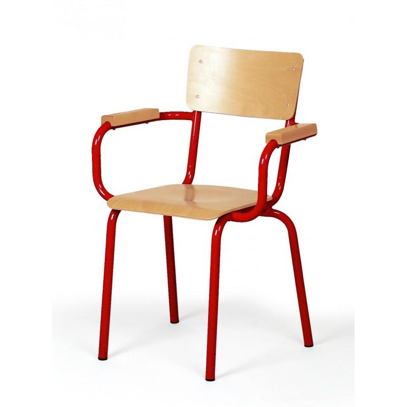 chaise de professeur en bois et m tal chaise de professeur en h tre dmc direct. Black Bedroom Furniture Sets. Home Design Ideas