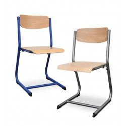 Visuel de la chaise scolaire pour collège