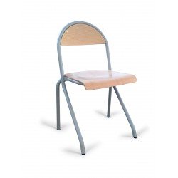 Chaise scolaire appui sur table Cathy