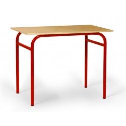 Table d'écolier en bois
