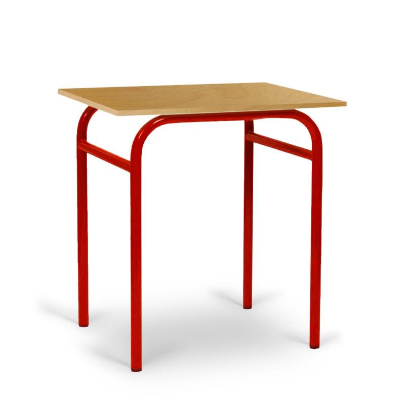 Visuel de la table pour élève monoplace