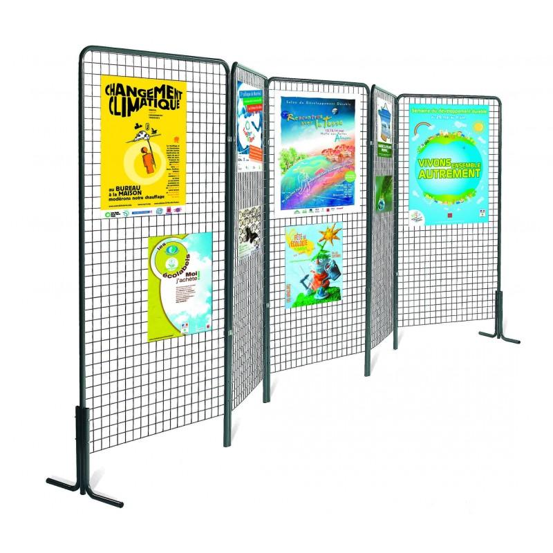 Grille D Exposition Pour Affichage Grille Pour Exposition