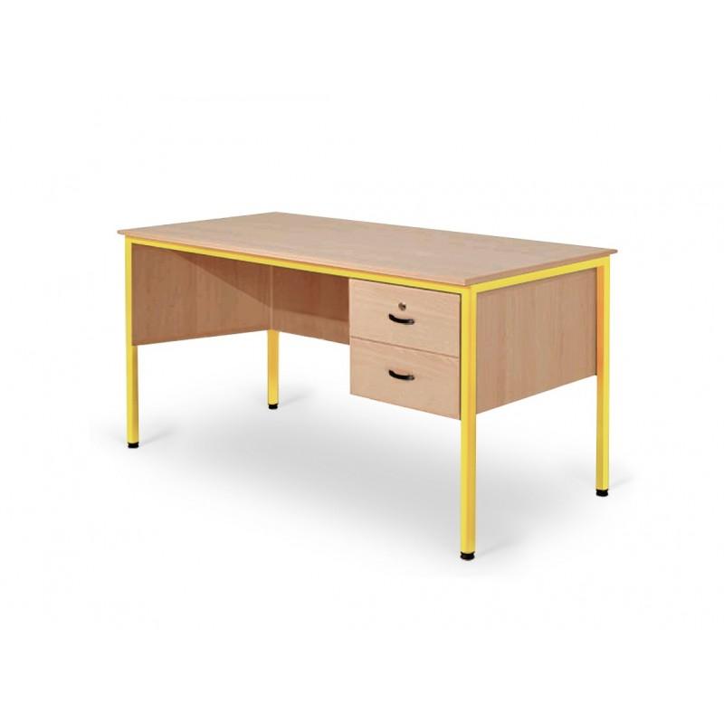 bureau professeur bureau d 39 enseignant mobilier scolaire votre bureau de professeur sur dmc direct. Black Bedroom Furniture Sets. Home Design Ideas