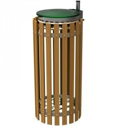 Visuel de la poubelle publique Collecbois