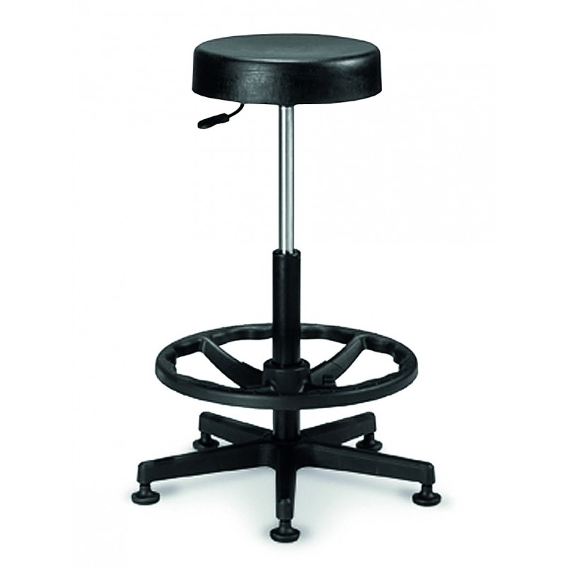 tabouret r glable en hauteur tabouret r glable sur roulettes ou patins. Black Bedroom Furniture Sets. Home Design Ideas