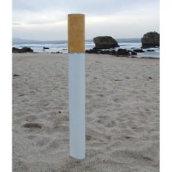 Cendrier extérieur en forme de Cigarette
