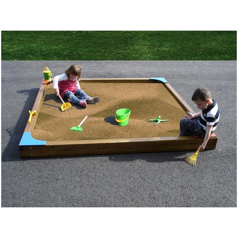 bac sable pour aire de jeux et coles dmc direct. Black Bedroom Furniture Sets. Home Design Ideas