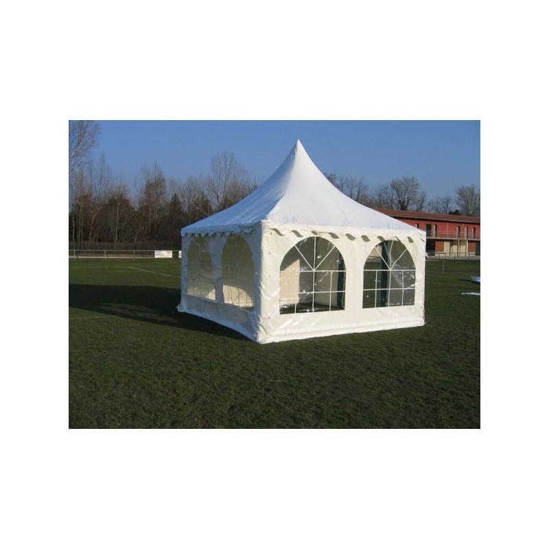 tente de r ception en polyester abri de r ception 4x4 m stand pagode ext rieur. Black Bedroom Furniture Sets. Home Design Ideas