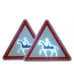 Visuel du panneau de signalisation lumineux renforcé