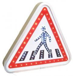 Visuel du panneau de signalisation lumineux A13b