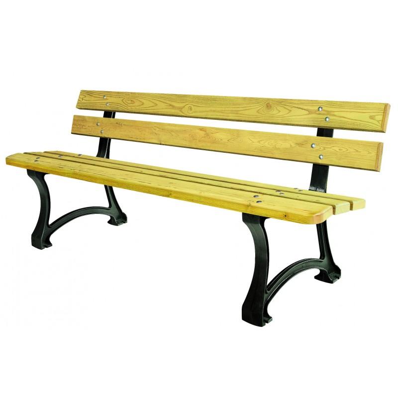 banc public dresde banc ext rieur en bois pour collectivit quipements pour collectivit s. Black Bedroom Furniture Sets. Home Design Ideas