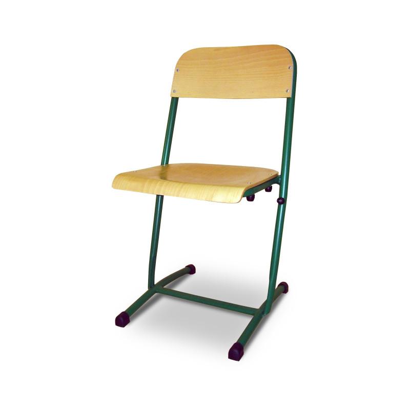 Visuel de la chaise pour écolier encastrée