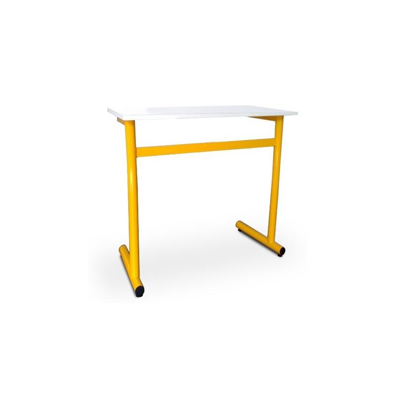 table d 39 cole 1 place bureau scolaire en acier bureau d 39 colier laura. Black Bedroom Furniture Sets. Home Design Ideas