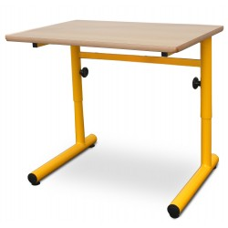 Table scolaire Laura monoplace réglable