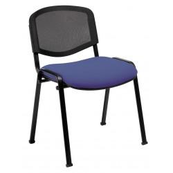 Chaise Iso avec dossier en résille