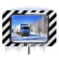 Visuel du miroir routier anti givre