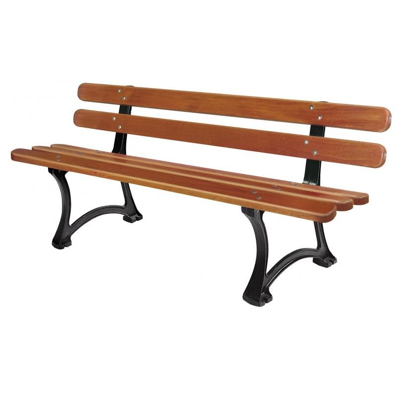 banc public saragosse en bois dmc direct. Black Bedroom Furniture Sets. Home Design Ideas