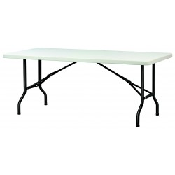 Table pliante en polypro rectangulaire