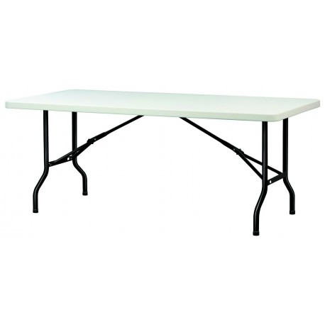 table en polypropyl ne pliante table en polypropyl ne rectangulaire table en polypro. Black Bedroom Furniture Sets. Home Design Ideas