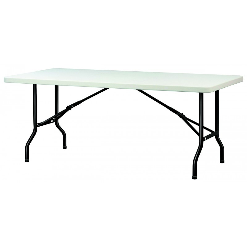 Table en polypropyl ne pliante table en polypropyl ne rectangulaire dmc di - Mobilier de collectivite ...