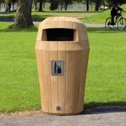 Visuel de la poubelle publique Everwood