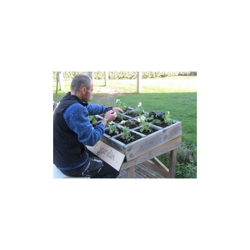 Visuel du mini potager scolaire - jardinière pour enfants