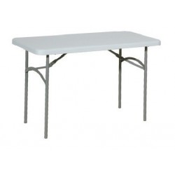 Table polypro pliante en 122 cm