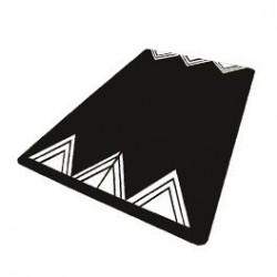 Visuel du coussin ralentisseur type berlinois noir