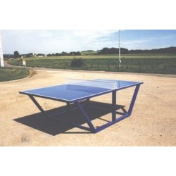 Table de ping-pong en métal
