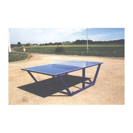 Visuel de la table de tennis de table en métal