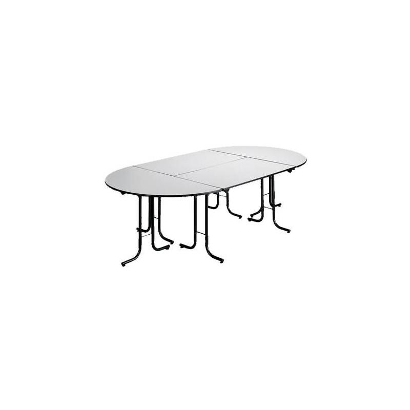 table pliante modulaire table rectangulaire pliante. Black Bedroom Furniture Sets. Home Design Ideas