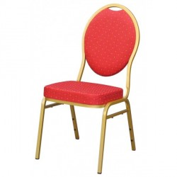 Visuel de la chaise de collectivité type banquet