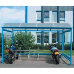 Visuel de l'abri pour vélo et moto Crémone