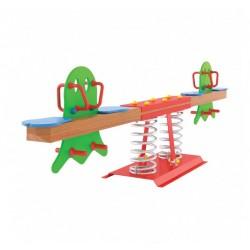 Visuel de la balançoire horizontale extérieure pour aire de jeux Kayak